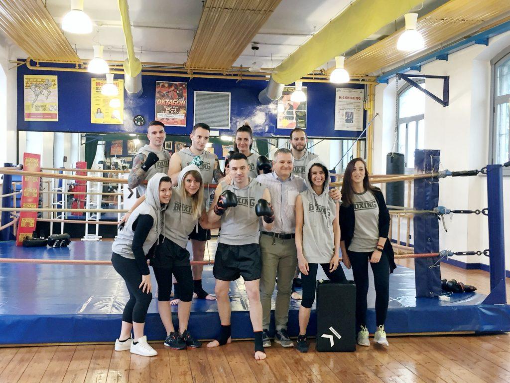 Boxe con Decathlon OutShock