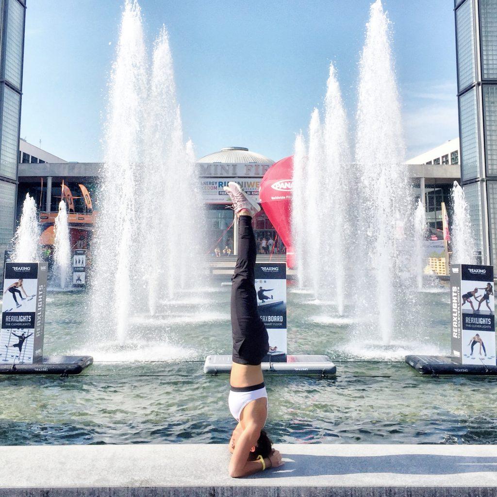 Rimini Wellness- Headstand ingresso fiera