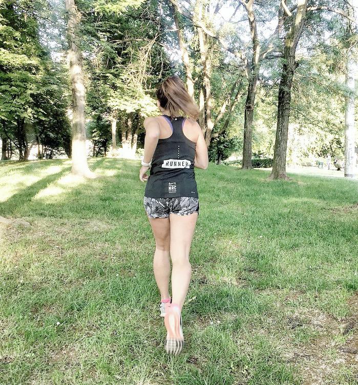 Running - Claudia Casanova