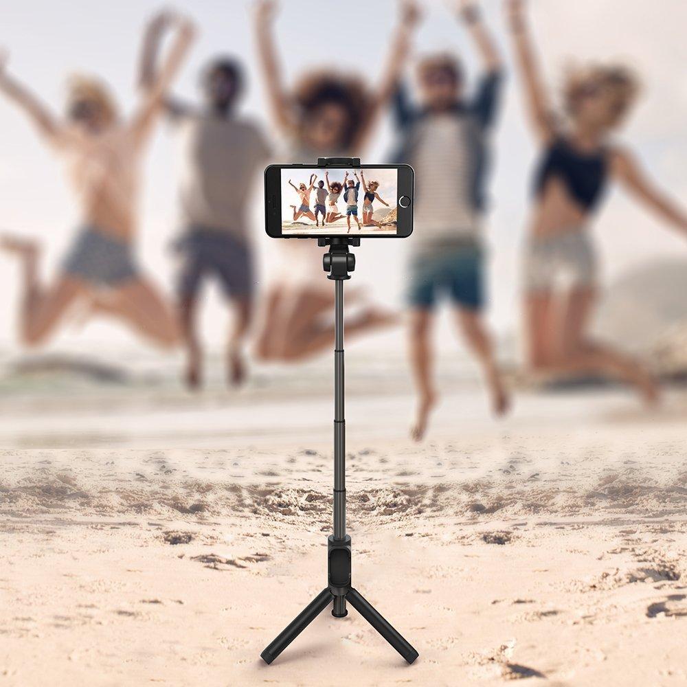 Foto con lo smartphone: Treppiedi + telecomando + bastone selfie