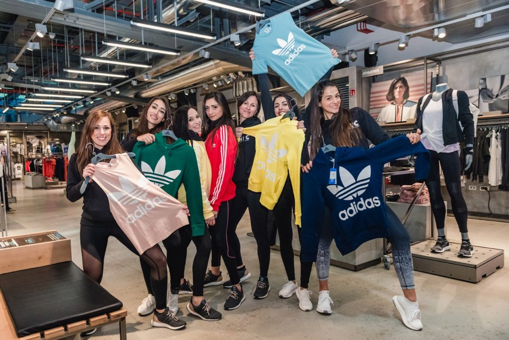 Girls Fitness Challenge - Adidas Store